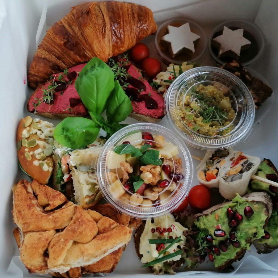 Frühstücksbox Vegetarisch
